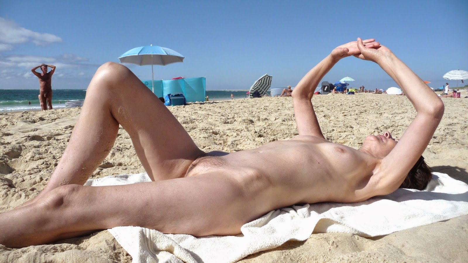 Mature nude beach share your