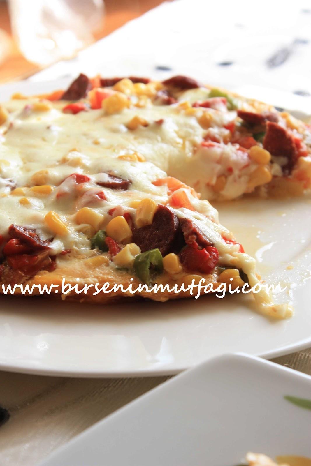 bir patates pizzası tarifi