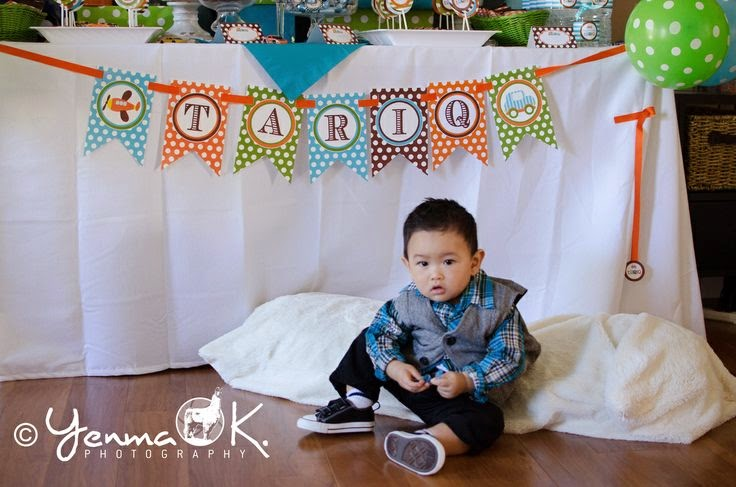 Planes, Trains, & Automobiles First Birthday Party