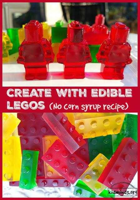 no corn syrup LEGO candy fun with LEGOS