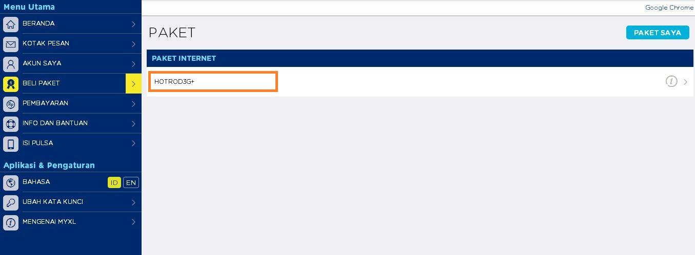 Cara Daftar Paket Internet Xl Secara Online - Exnim