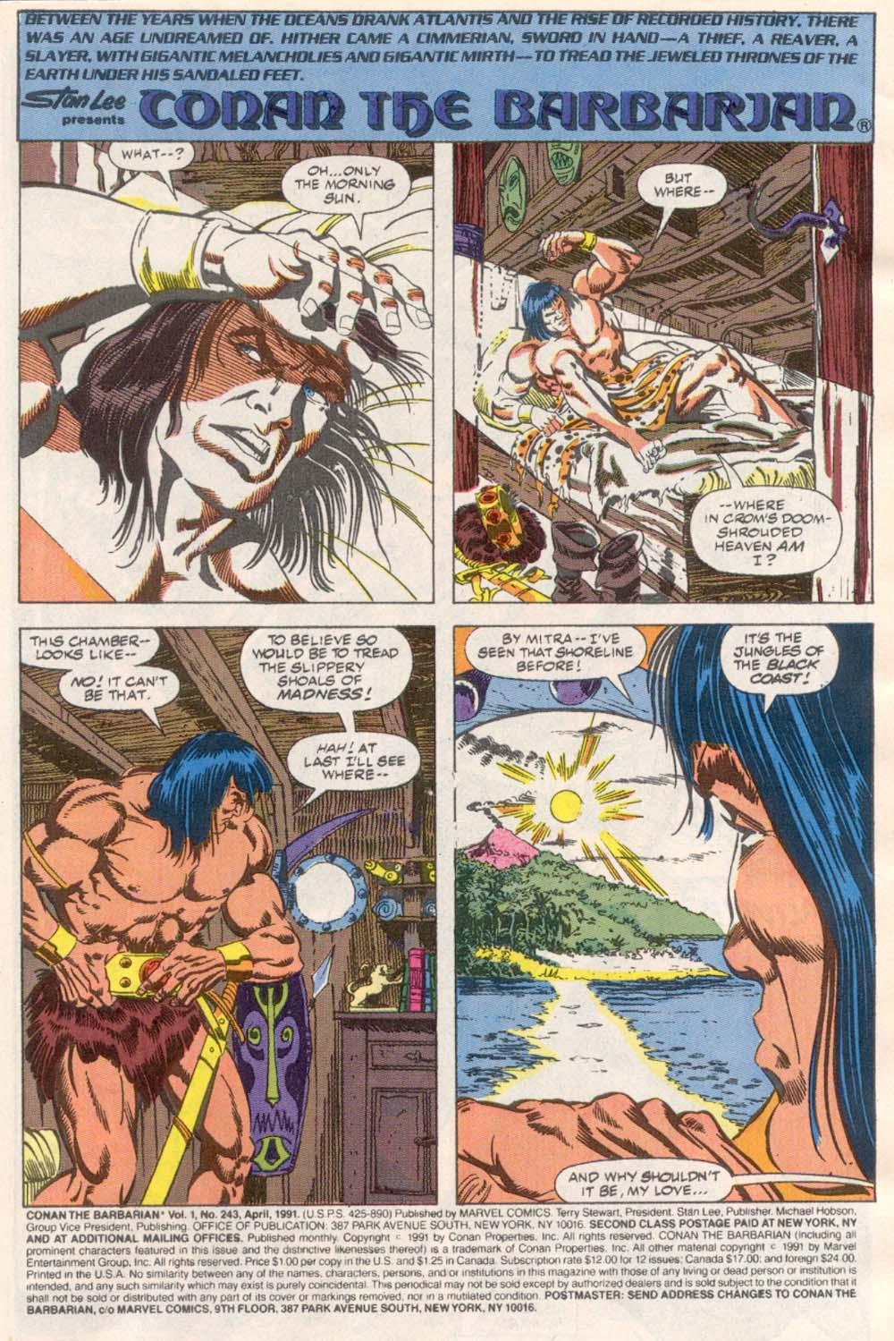 Conan the Barbarian (1970) Issue #243 #255 - English 2
