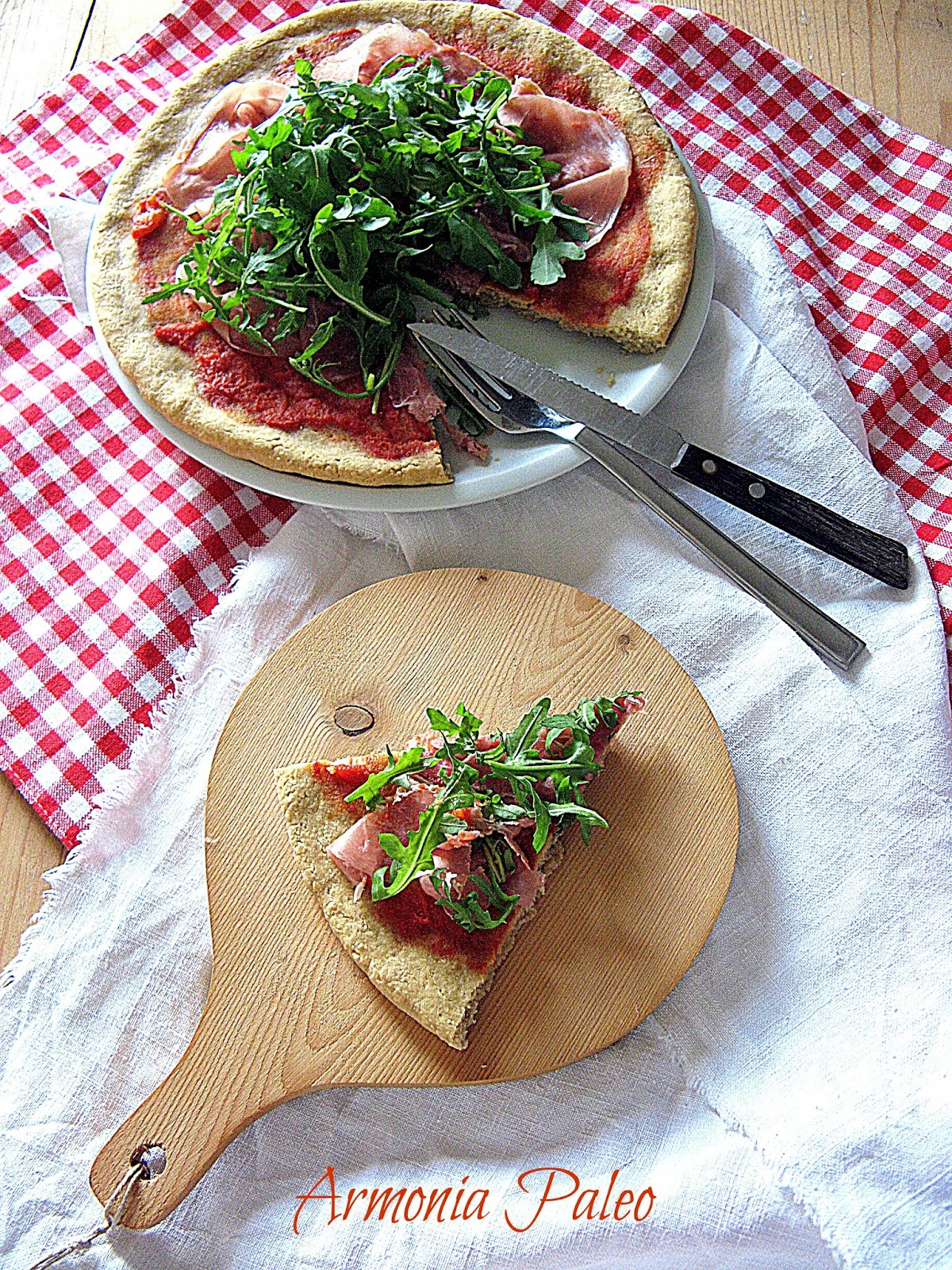 Pizza Paleo di Armonia Paleo