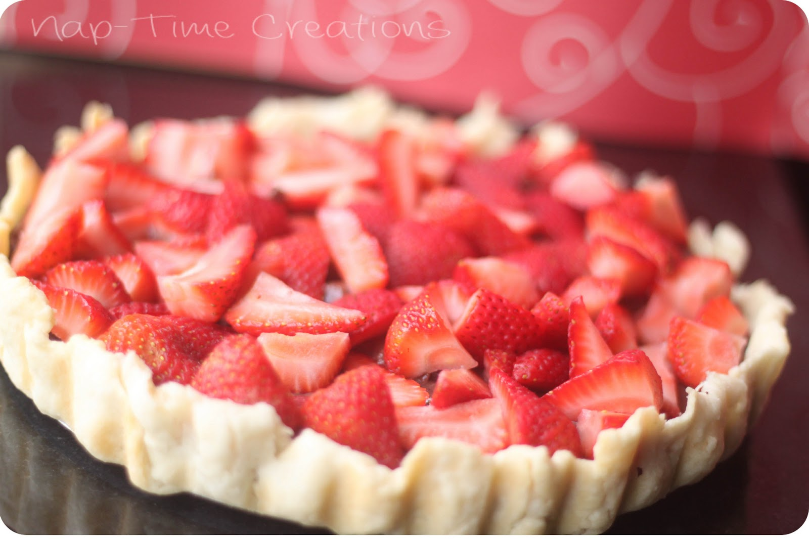 Strawberry Tart {recipe} - Nap-time Creations