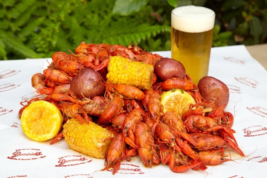 ... Crumbs: Save the Date: Dominicks' Crawfish Boil Every Saturday in May