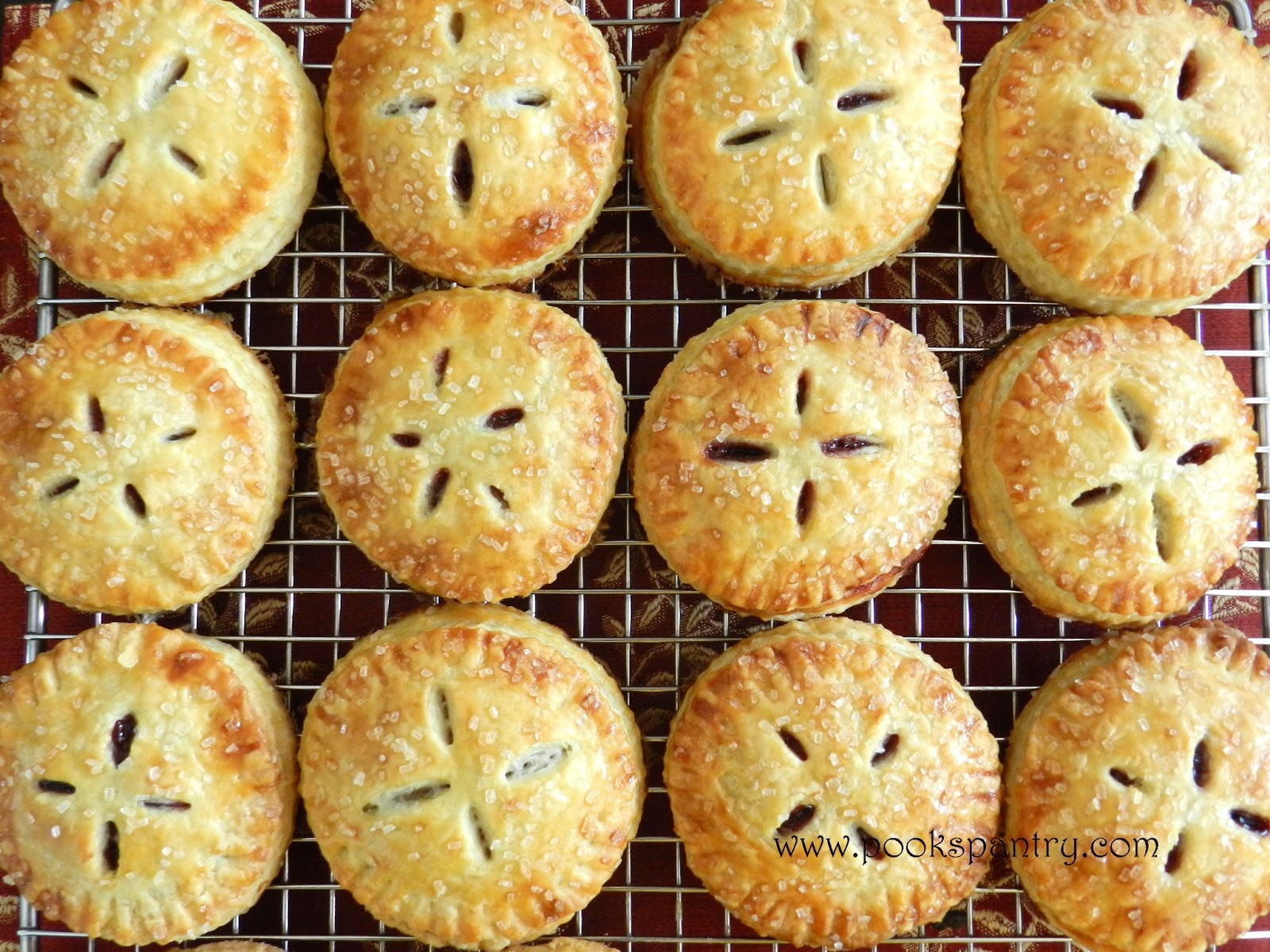 Cherry Hand Pies Recipe — Dishmaps