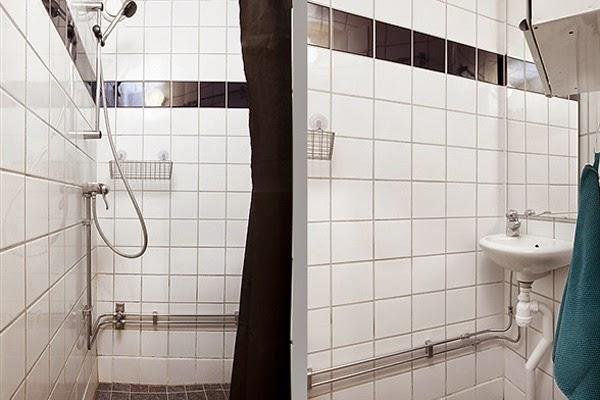 Banheiro com cerâmica