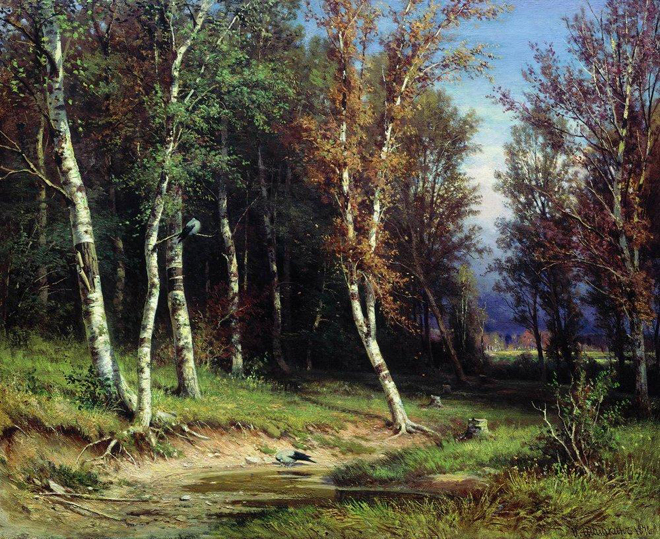 The Flying Clubhouse: Shishkin's Forest // Forest Before the Storm