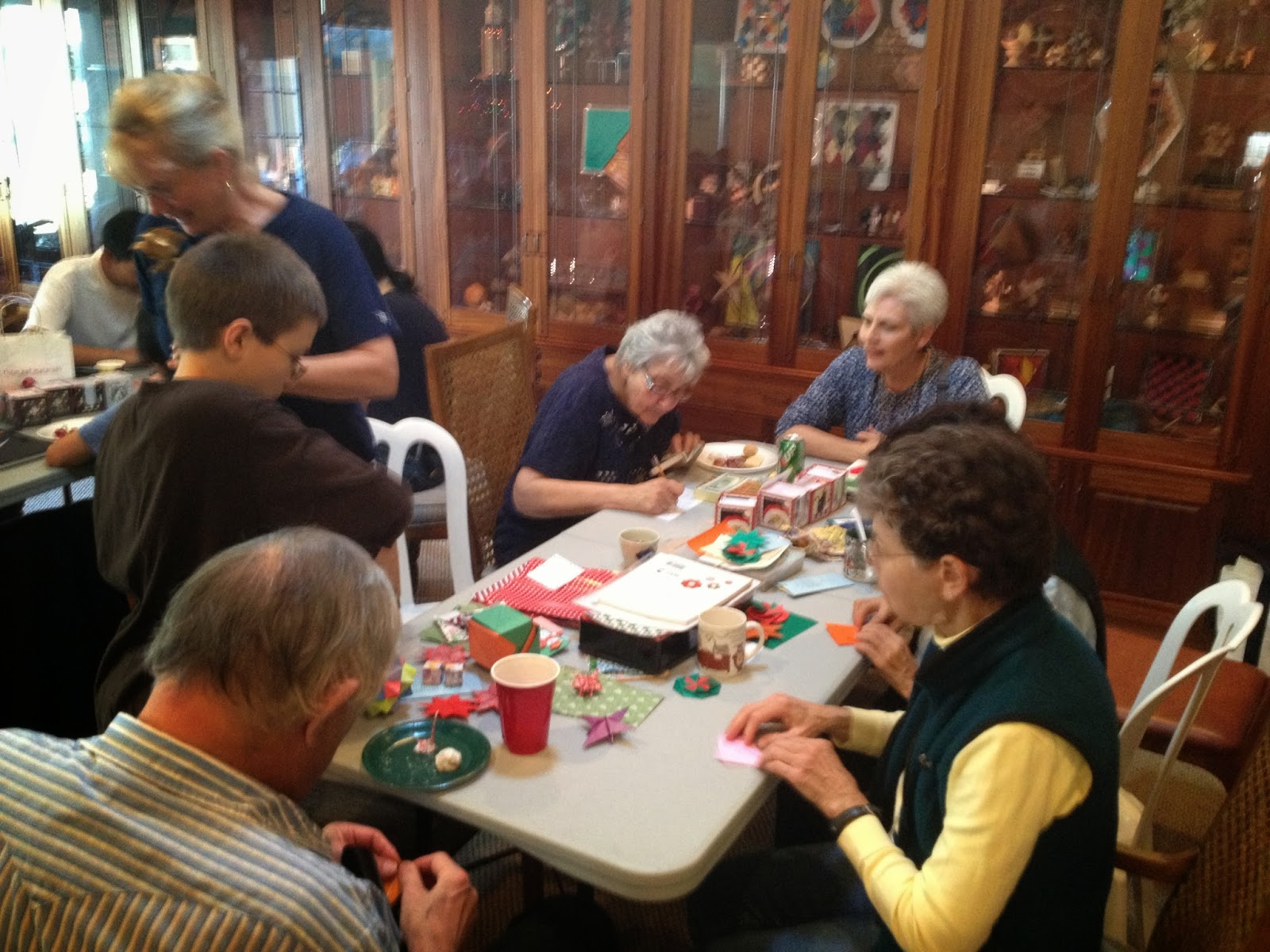 Have Paper, Will Travel: 1st Sunday at Marti\'s Origami Fun in Garden ...