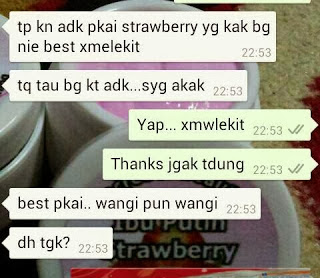 KRIM IBU PUTIH STRAWBERRY 15G