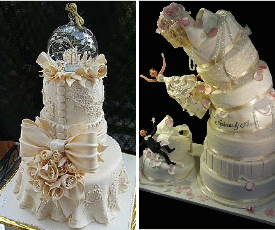 уникални сватбени торти