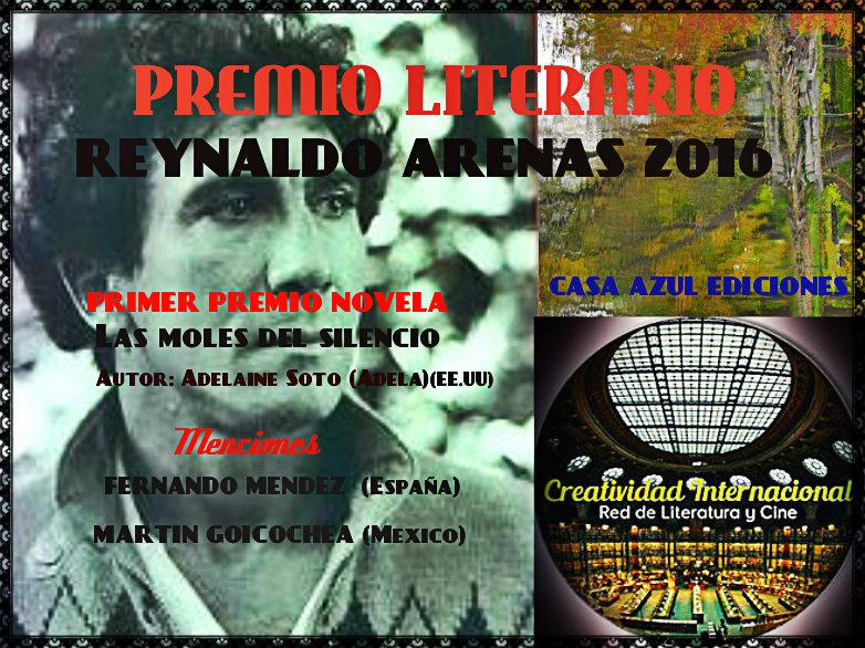 CONCURSO REINALDO ARENAS 2016