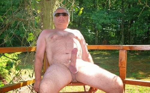 Old Man Grandpa Big Cock