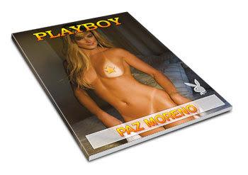 Confira as fotos da coelhinha do ano, Paz Moreno, capa da Playboy de setembro de 2008!