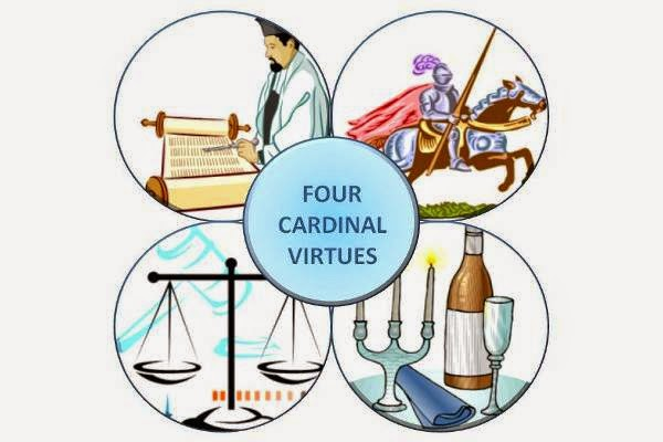 7 great virtues The seven catholic virtues the roman catholic teaching document, the catechism of the catholic church, describes the seven virtues in detail human beings achieve prudence, justice, fortitude and temperance through intellect and free will.