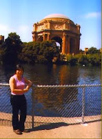 Deb at Palace of Fine Arts