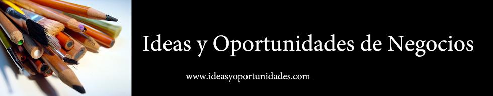 Ideas y Oportunidades de Negocios