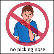 how to break the habit of picking your nose