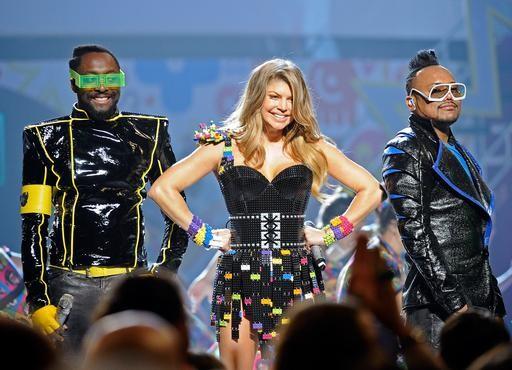 Black Eyed Pea Costume The Black Eyed Peas on