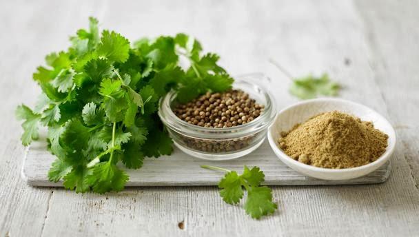 Remedios con cilantro
