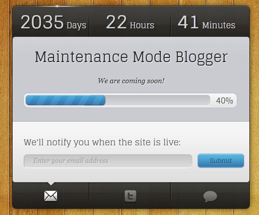 Maintenance Mode