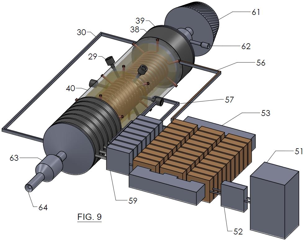 FIG. 9 - Combustion Engine