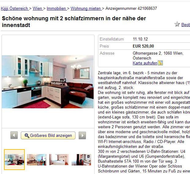 Wohnungsbetrug.blogspot.com: Schöne Wohnung Mit 2