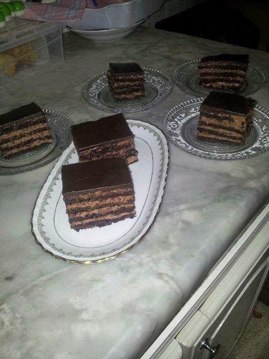 Recette des rectangles au chocolat