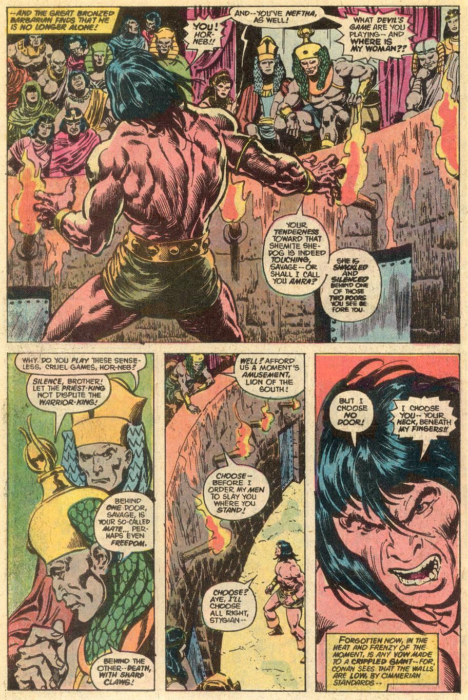 Conan the Barbarian (1970) Issue #77 #89 - English 11