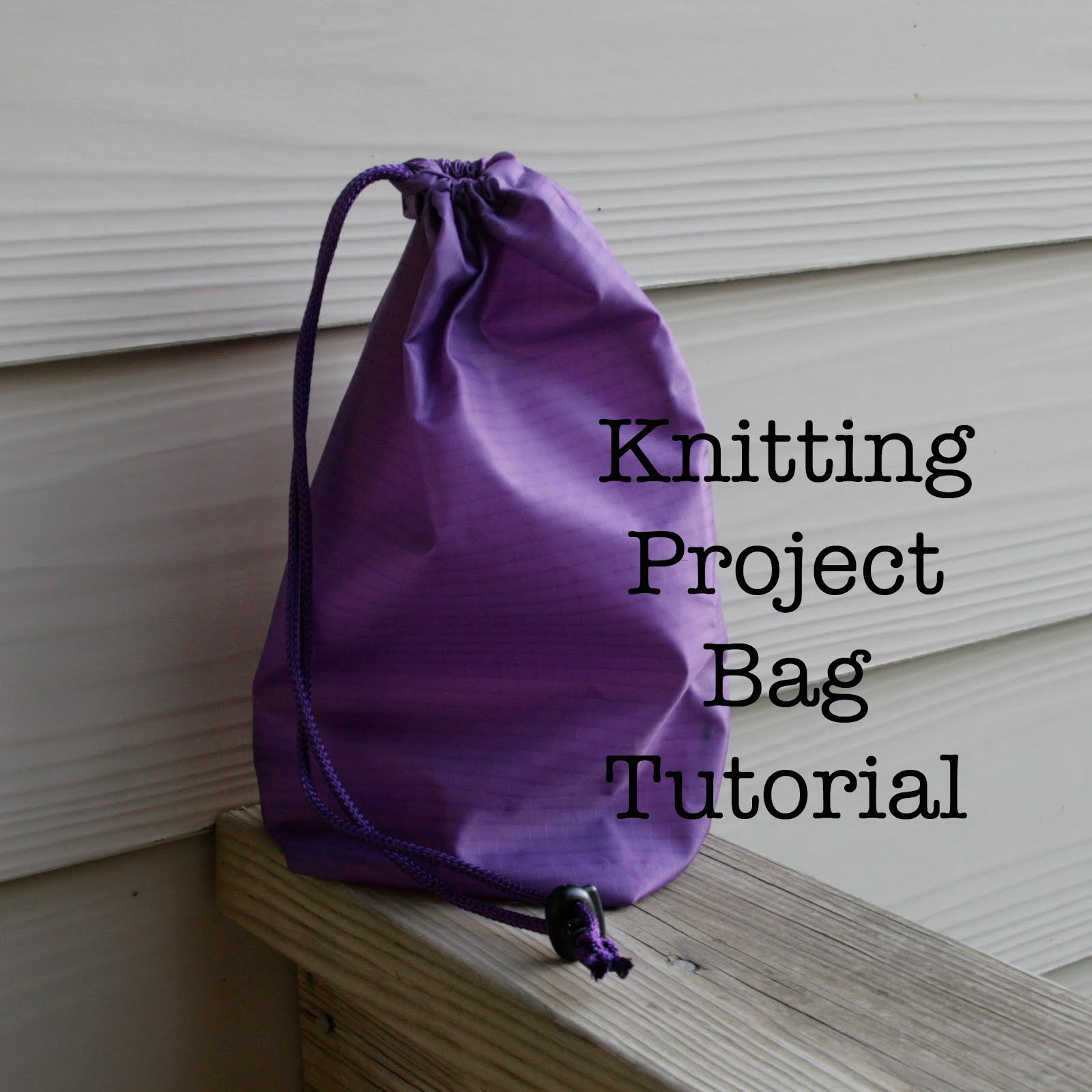Knitting Project Bag Pattern : The gauge wars knitting project bag tutorial