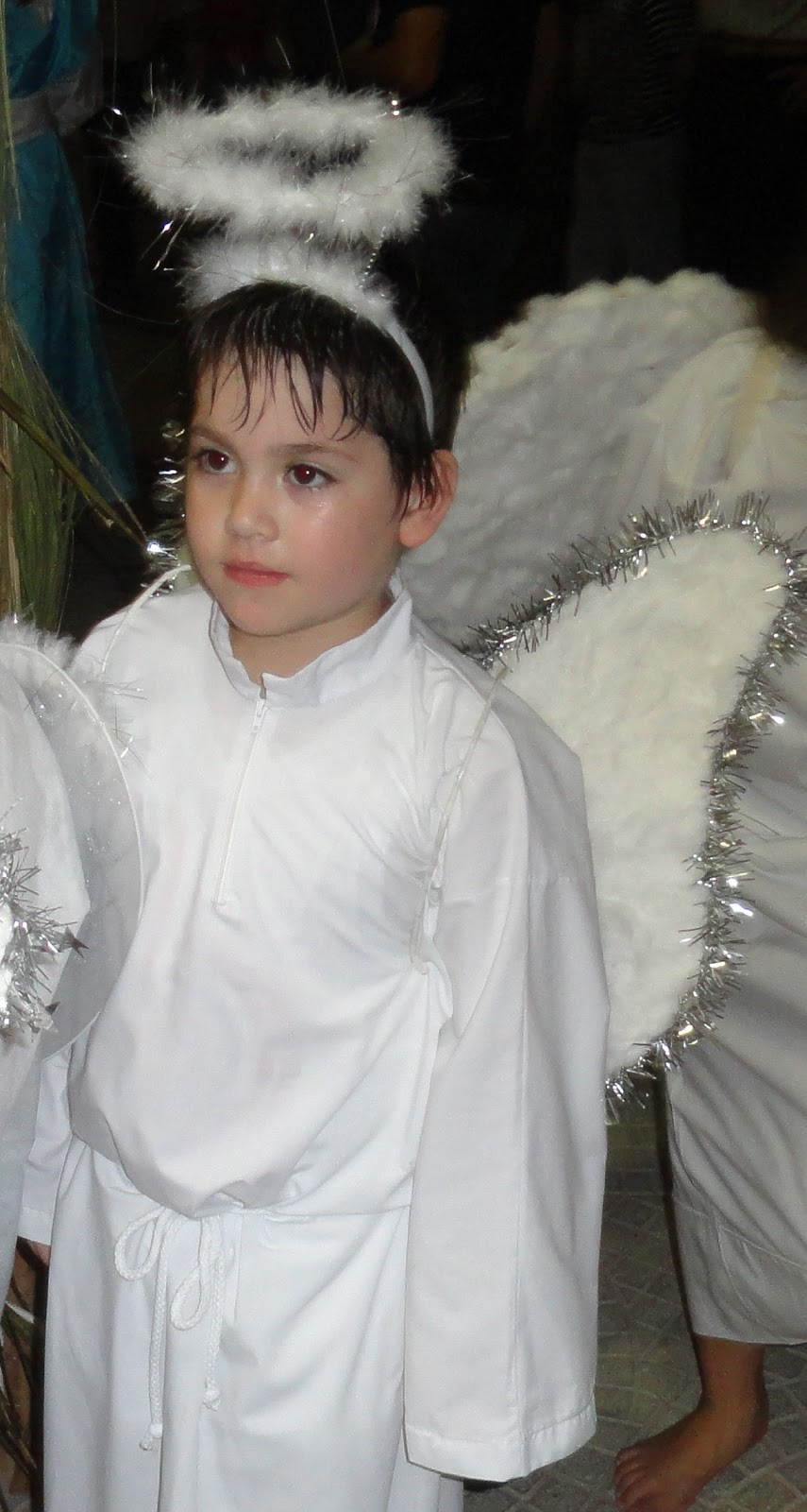 Disfraz de angel de la guarda recrear manualidades arte - Trajes de angelitos para ninos ...