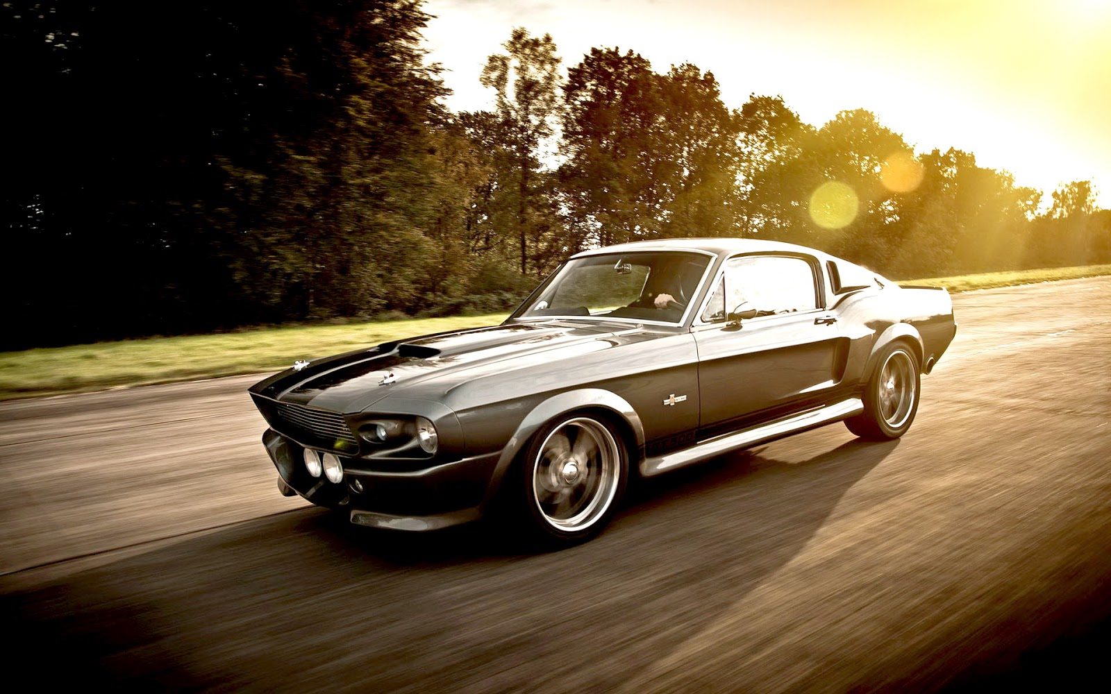 1967 For Mustang GT500 Eleanor on Gone in 60 Seconds movie