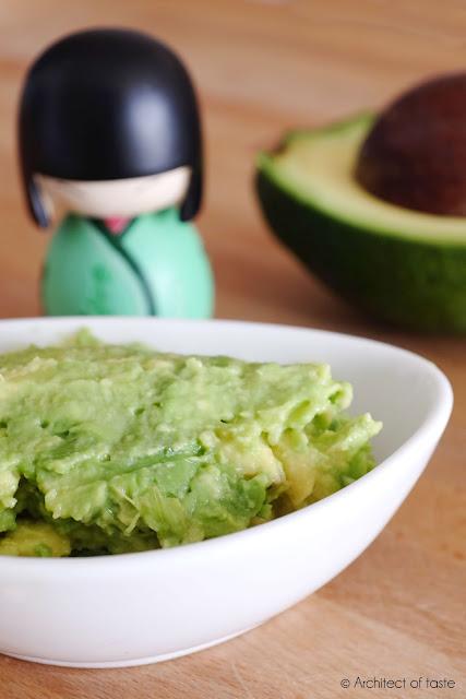 purea di avocado