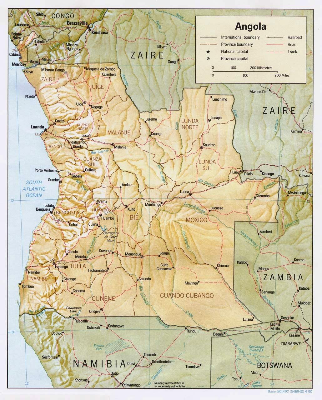 Big Blue 1840-1940: Angola