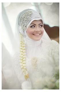 Model Hijab Modern Untuk Akad Nikah