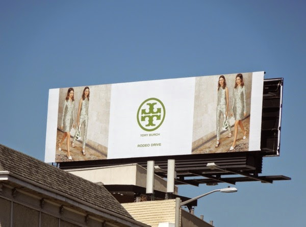 Tory Burch Summer 2014 billboard