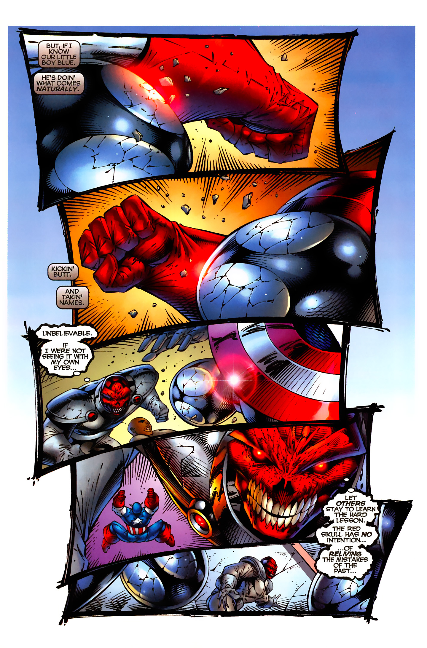 Captain America (1996) Issue #5 #5 - English 6