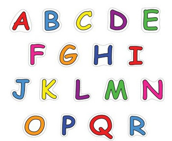 Alphabet Upper Case Letters