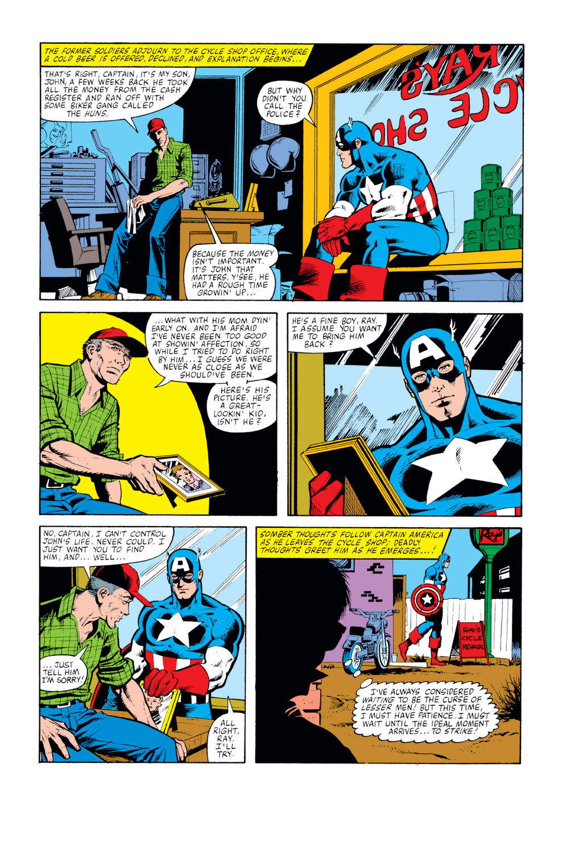 Captain America (1968) Issue #259 #174 - English 9