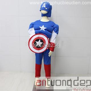 bán cho thuê trang phục captain america