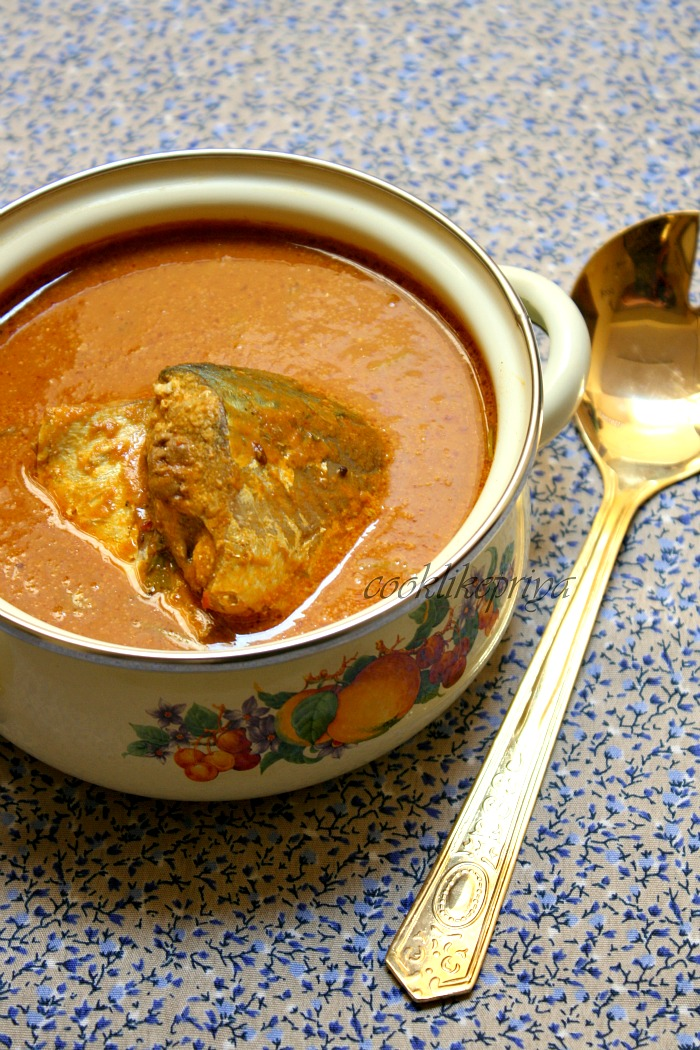 Cook like Priya: Coconut Fish Curry ~ Amma's Special