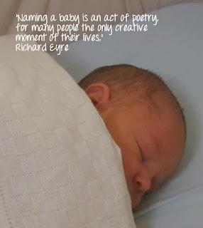 Baby naming - Richard Eyre