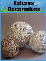 Tutorial: Esferas decorativas (mecate o yute)
