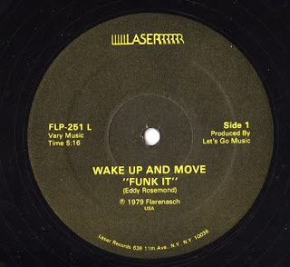 Eddy Rosemond -  Wake Up & Move Funk It 1979