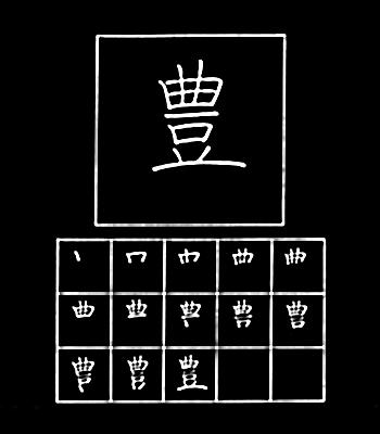 kanji berlimpah