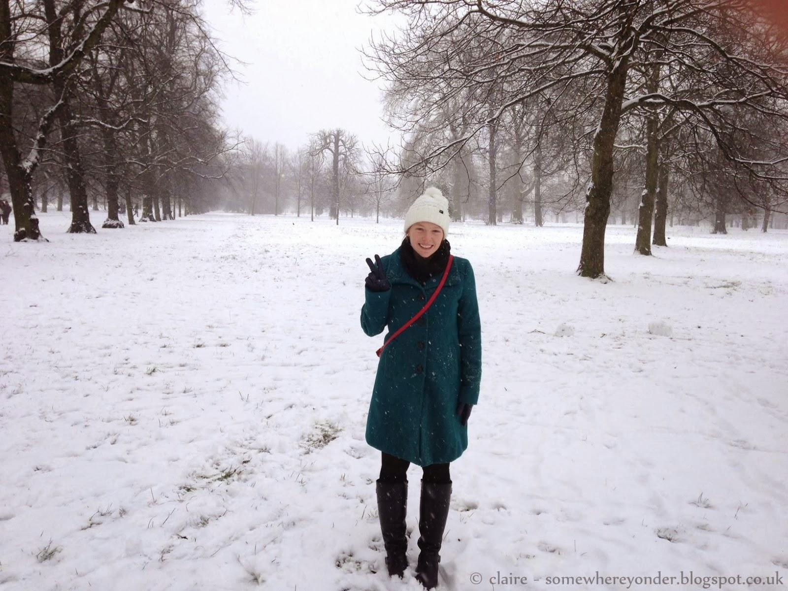 Winter in Hyde Park 2013