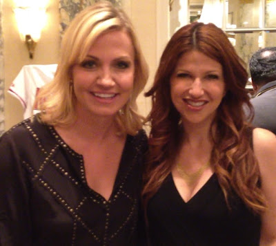 Rachel Nichols of ESPN and Michelle Beadle of NBC