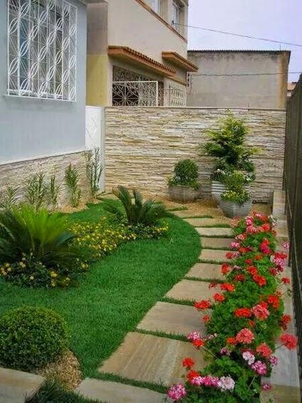 ideias jardins pequenos:Bricolage e Decoração: Ideias para Decorar Pequenos Jardins