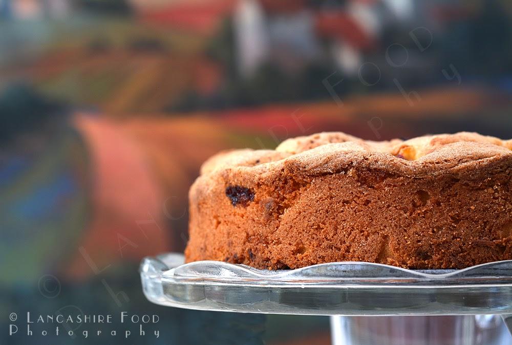 Lancashire Food: Rustic plum cornmeal cake