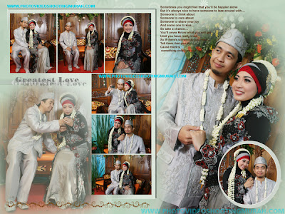Foto Wedding Akbar dan Firda
